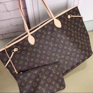 üNew Louis Vuitton r Neverfull Handbag Purse u MMn